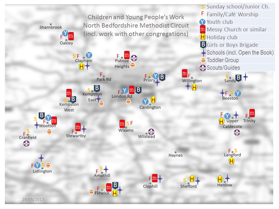 Children and Young People Circuit Map